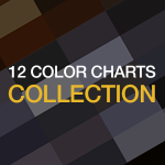 12 color charts collection by Ingrid Sundberg